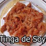 Tinga de Soya